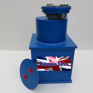 Britannia Safes Winston Silver Underfloor Safe Range
