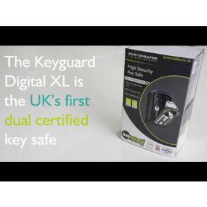 Burton Keyguard Digital XL Key Store