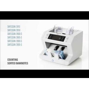Safescan 2660-S Bank Note Counter Machine