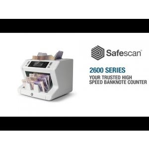 Safescan 2650 Automatic Bank Note Counter Machine