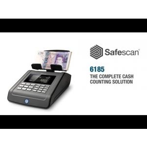 Safescan 6185 Money Counter for Coins and Banknotes