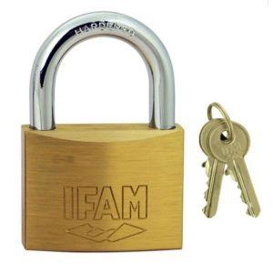 Ifam E-40 Brass Padlocks with 2 keys