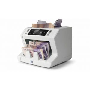 Safescan 2650 Automatic Bank Note Counter Machine with 3 point Counterfeit Detection