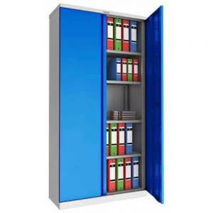 Phoenix SCL1891G Blue Electronic Steel Storage Cupboard