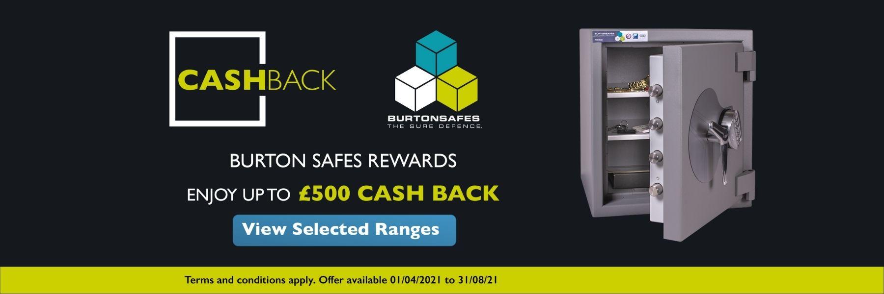 Barrington Security Partner with Burton Safes for Cash Back Promotion